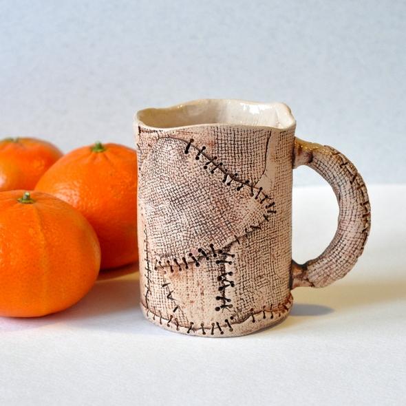 Изготовление чашки пластовым методом