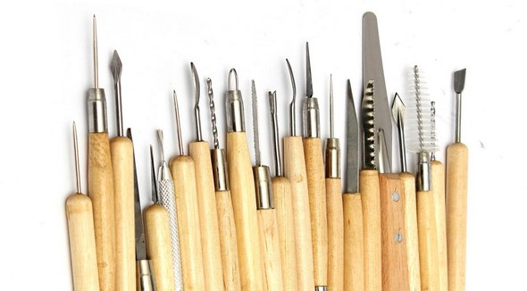 инструменты для лепки из глины