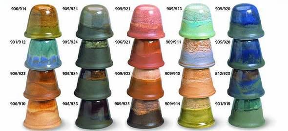 керамические глазури