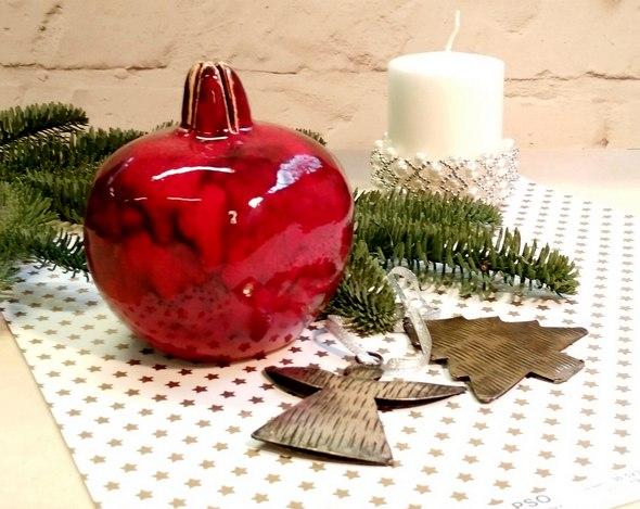 Новогодняя керамика
