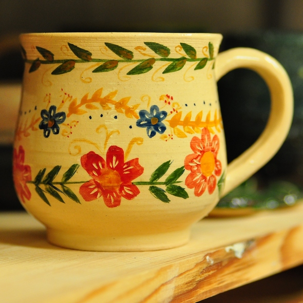 Роспись глазурями по керамике